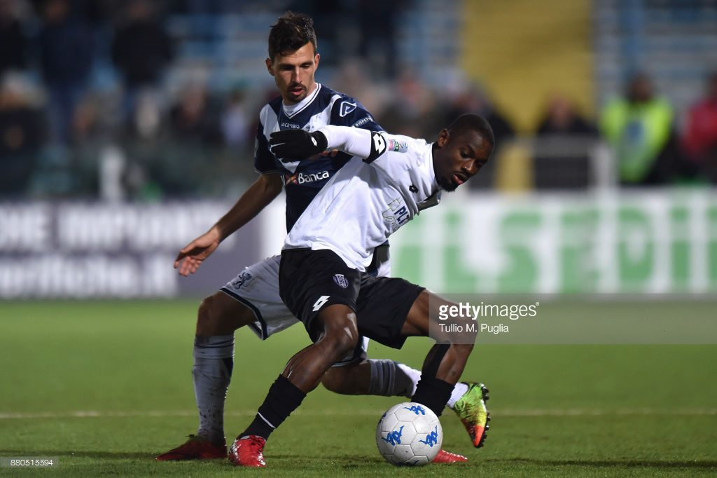 Ghanaian defender Isaac Donkor opens league account as AC Cesena swat aside Pescara in Serie B
