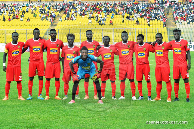 Familiar feeling for fallen giants Asante Kotoko