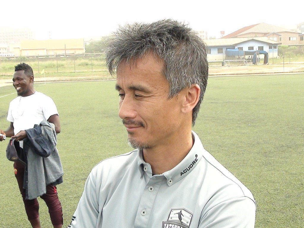 Japanese trainer  Kenichi Yatsuhashi excited to have landed Inter Allies coaching job