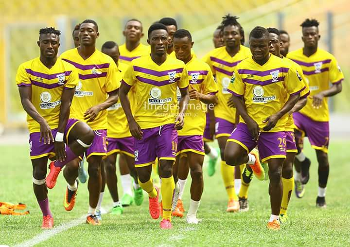 No Christmas  break for Medeama as team continues pre-season