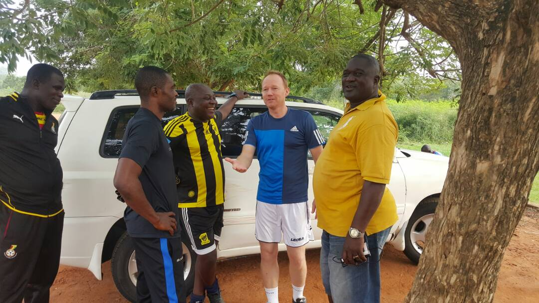 VIDEO: Frank Nuttall starts pre-season training with Hearts of Oak