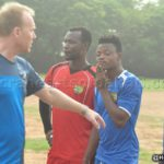 PHOTOS: Hearts coach Fran Nuttal joins group training ahead of new season