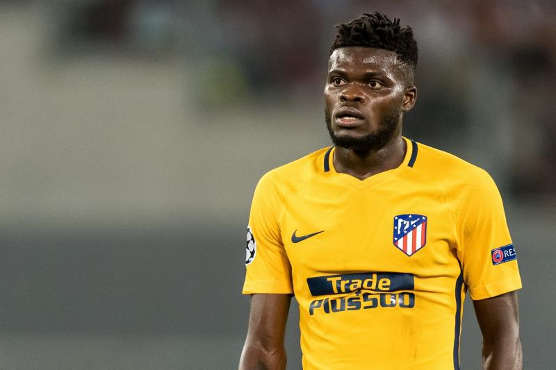 Thomas Partey triumphs over Mubarak Wakaso's Deportivo Alaves with Atletico Madrid