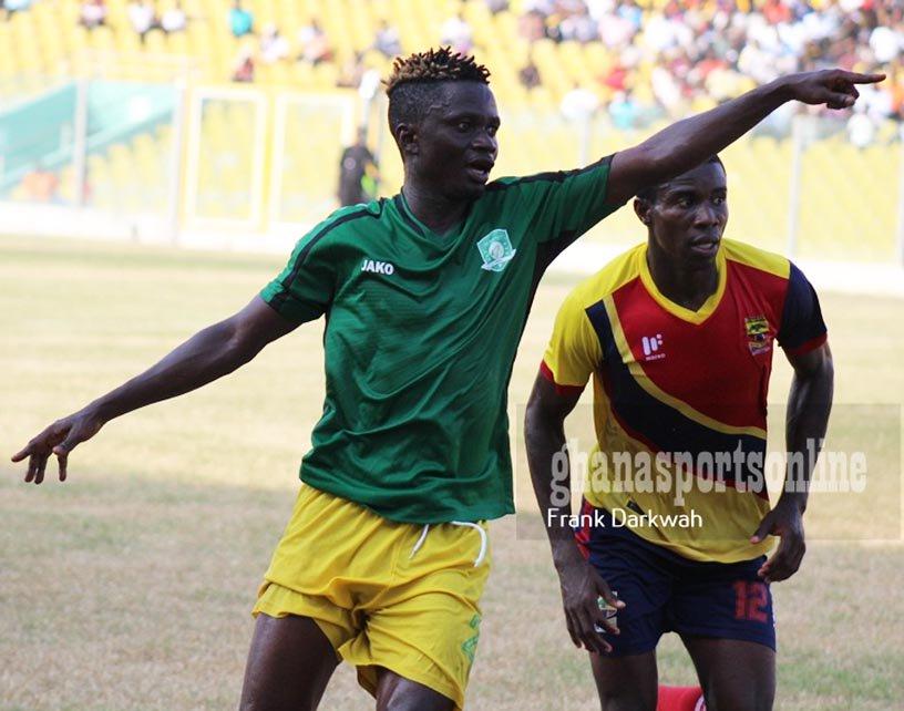 Aduana Stars release duo Richard Mpong and Micheal Amenya