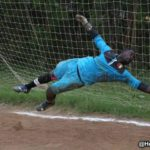 Former WAFA No.1 goalkeeper Theophilus Jackson training with Hearts of Oak