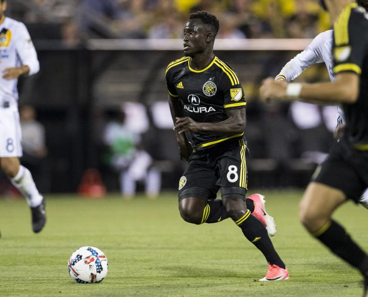 PHOTOS: The best of Ghana's Mohammed Abu for Columbus Crew in 2017