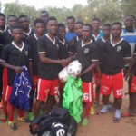 Red Bull star David Atanga turns to his root, donates football equipment and cash to parent club Tanga FC in Bolga
