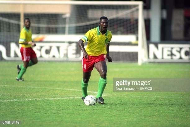 Former Cameroonian defender well-known for committing the worst tackle in World Cup dies