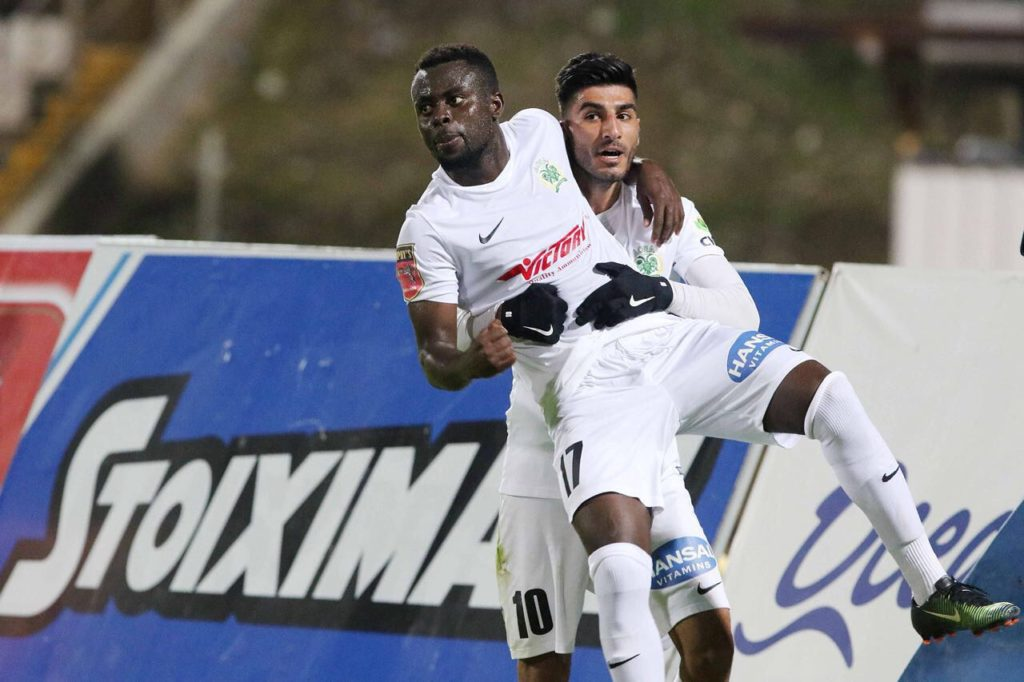 Ghanaian youngster Samuel Asamoah late strike hands Doxa win in Cyprus