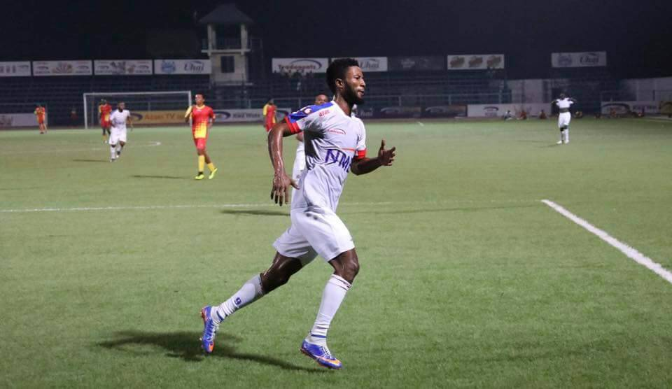 VIDEO: Former Liberty Professionals striker Bernard Arthur opens scoring account with Tanzanian giants Azam FC