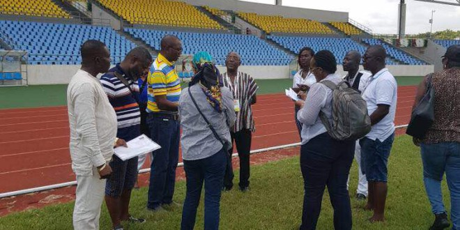 CAF inspection team unhappy with Accra Sports Stadium for 2018 Africa Women Nations Cup