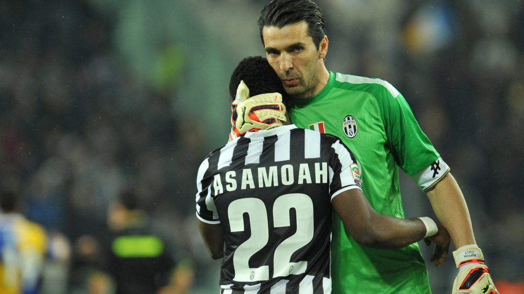 Kwadwo Asamoah feels honoured to play with Italian legend Gianluigi Buffon