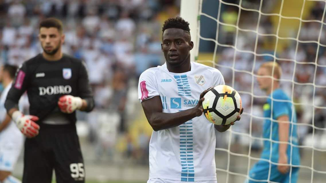 Maxwell Boadu Acosty scores opener as Croatian side Rijeka secure comfortable win