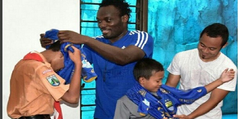 Michael Essien gives his verdict on Indonesian football standards