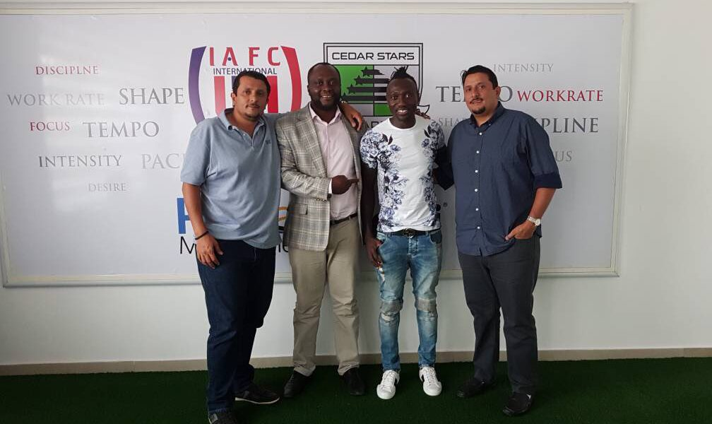Montreal Impact striker Dominic Oduro tours former Club Inter Allies