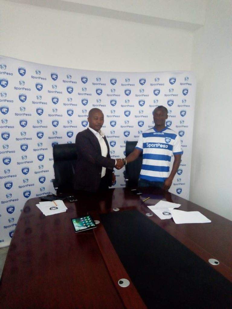 EXCLUSIVE: Former Berekum Chelsea forward Prince Papa Arko joins Kenyan side AFC Leopards