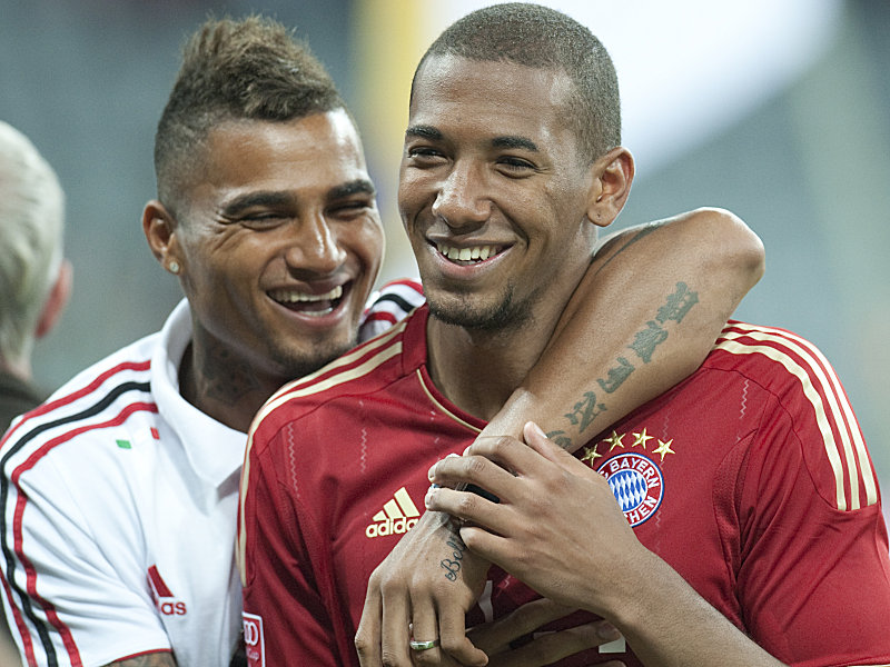 United by blood, divided by football – Jerome Boateng clashes with Kevin Boateng in Bundesliga