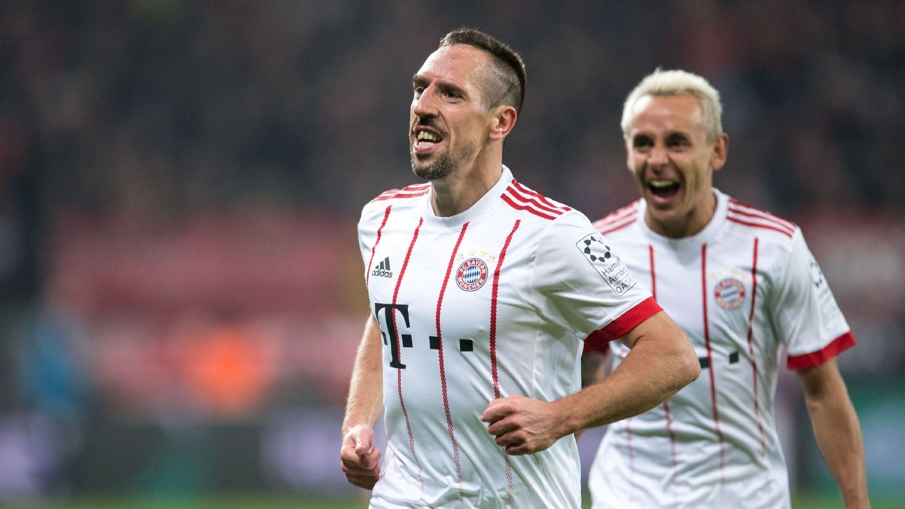 Franck Ribery says he wants to finish career at Bayern Munich
