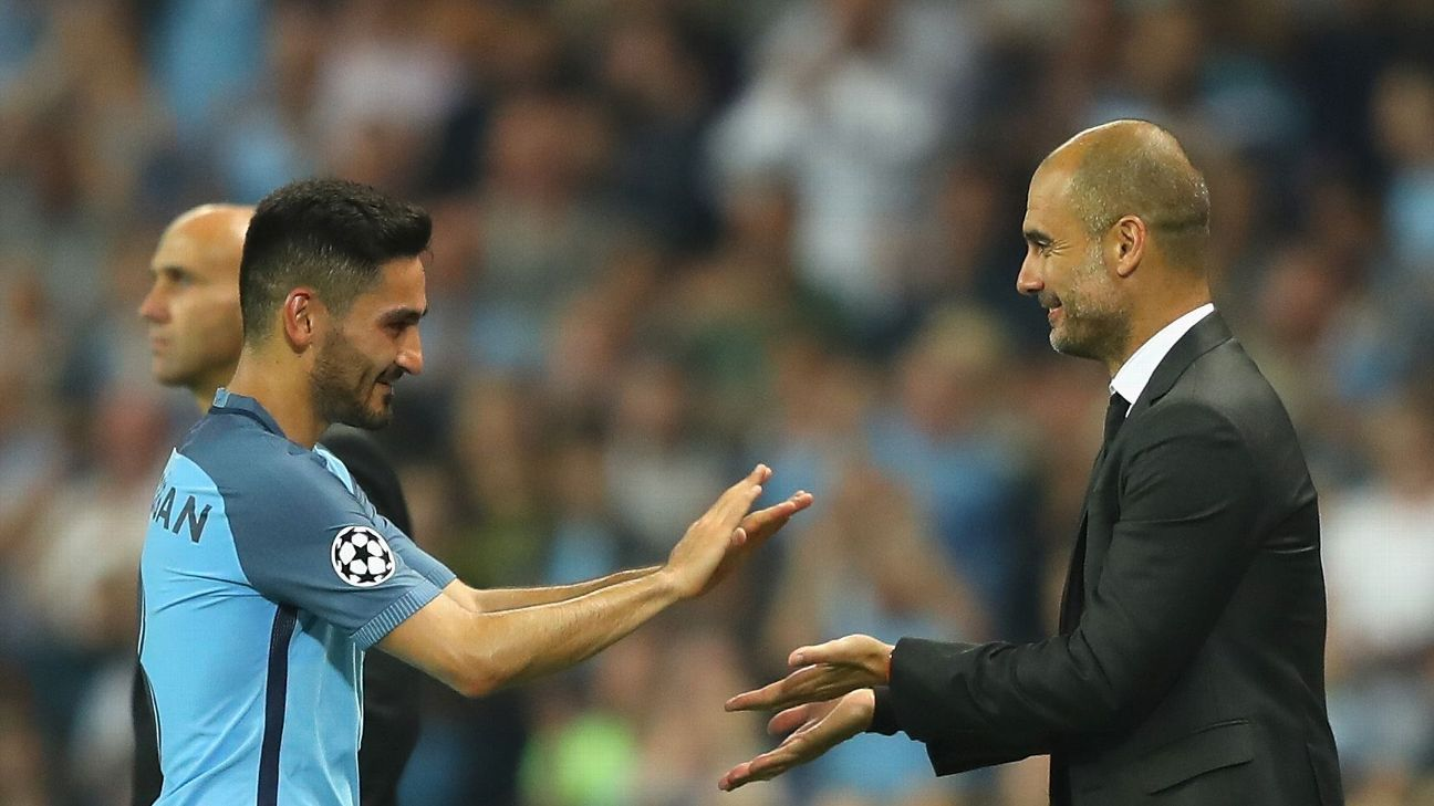 Man City's Gundogan: I chose Guardiola over former boss Klopp