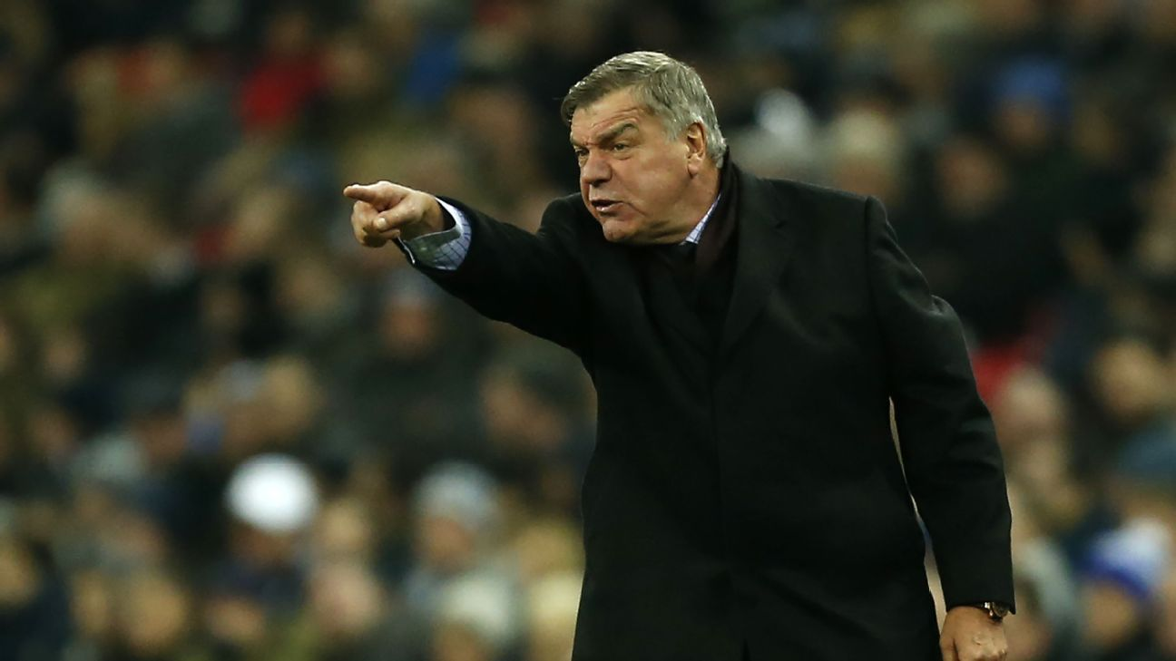 Sam Allardyce 'shocked' with Everton's poor performance vs. Tottenham