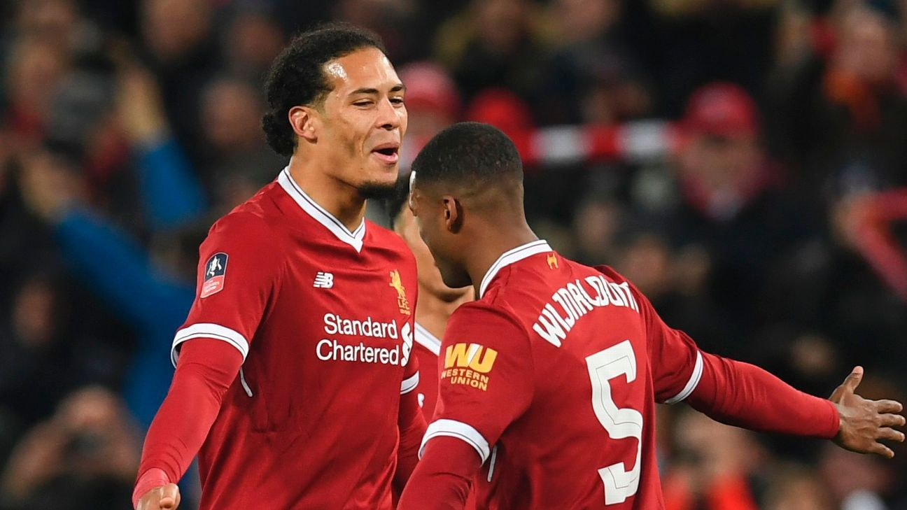 Georginio Wijnaldum told Virgil van Dijk to 'follow his heart' to Liverpool