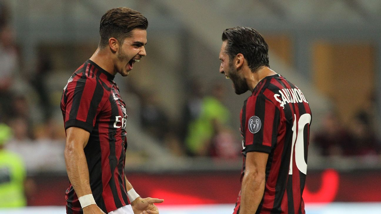 Time for Silva, Calhanoglu to prove they were worth Milan's investment