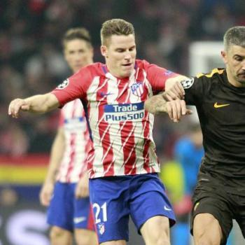 SWANSEA CITY want Atletico duo GAMEIRO-GAITAN in