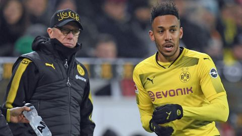 Stöger planning ahead with Aubameyang Borussia Dortmund's coach says it is logical that Pierre-Emerick Aubameyang will stay in Dortmund. vor 2 Stunden