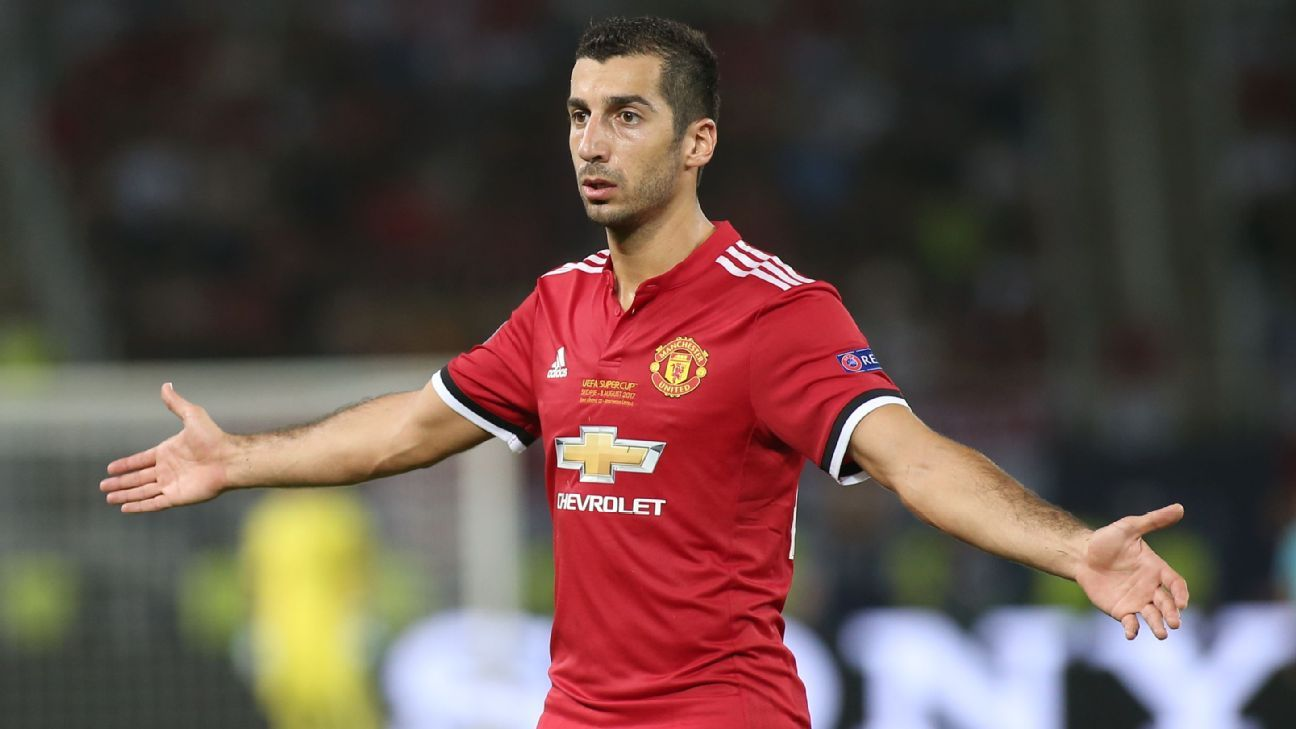 Sanchez move to Man United hinges on Mkhitaryan joining Arsenal - Raiola