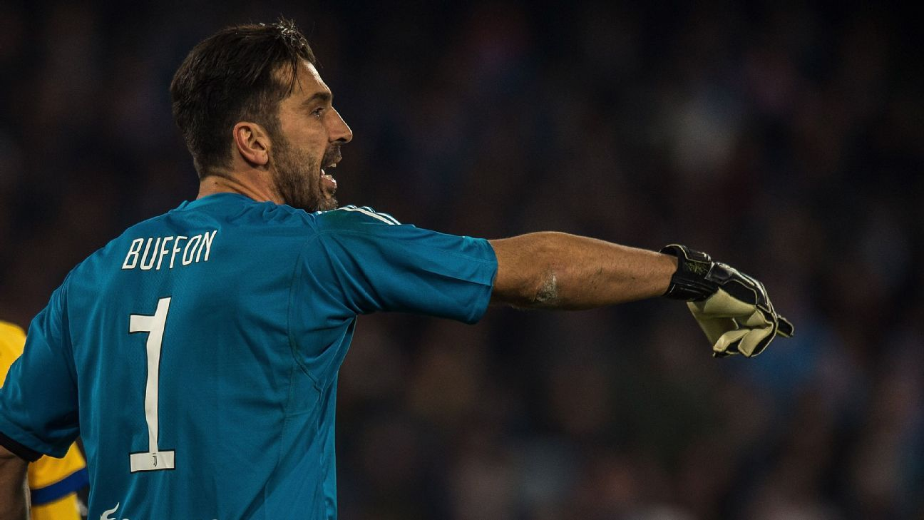 Gianluigi Buffon could miss Paolo Maldini's Serie A record through injury