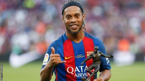 Ronaldinho: Brazilian World Cup winner retires from football
