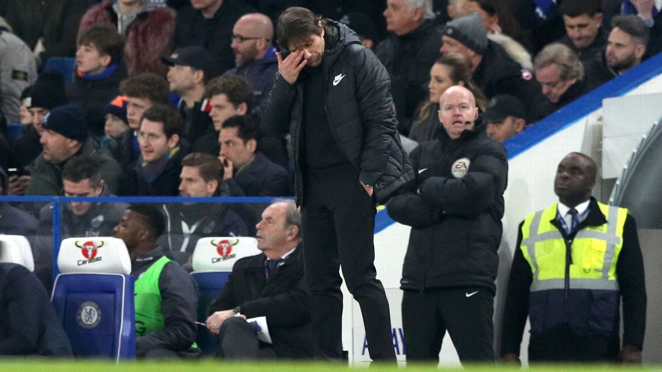 Conte's disenchantment suggests his Chelsea reign could soon end