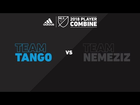 Team Tango vs. Team Nemeziz | adidas MLS Combine 2018