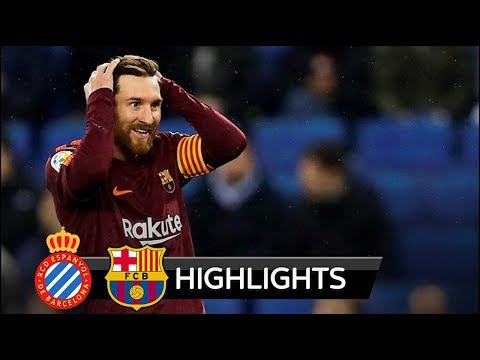 Espanyol vs Barcelona 1-0 - All Goals & Highlights - La Copa 17/01/2018 HD