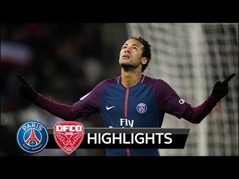 PSG vs Dijon 8-0 - All Goals & Extended Highlights - 17/01/2017 HD