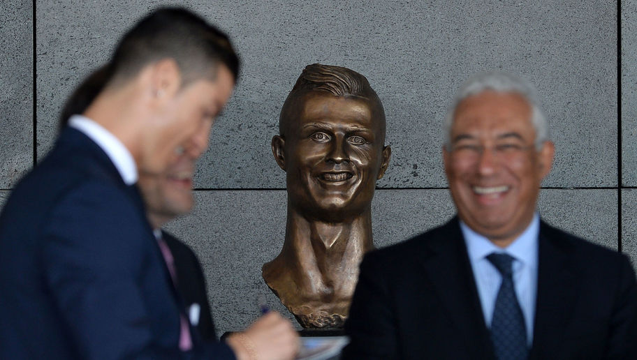 90min Readers Name Notorious Cristiano Ronaldo Sculpture as the Worst of All Time