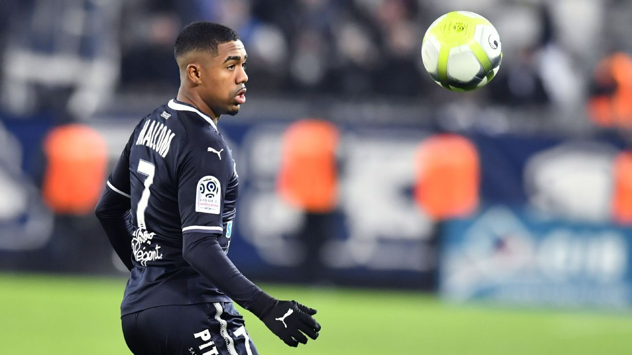 Arsenal target Malcom sorry for video, faces Bordeaux disciplinary action