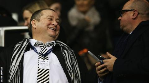 Newcastle bid still on table - Staveley