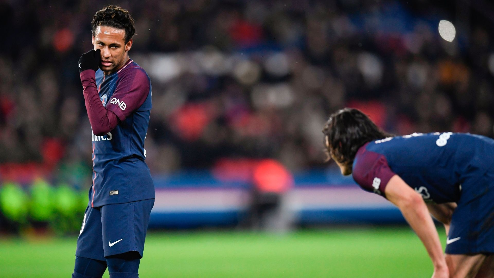 Neymar proves PSG playing by his rules