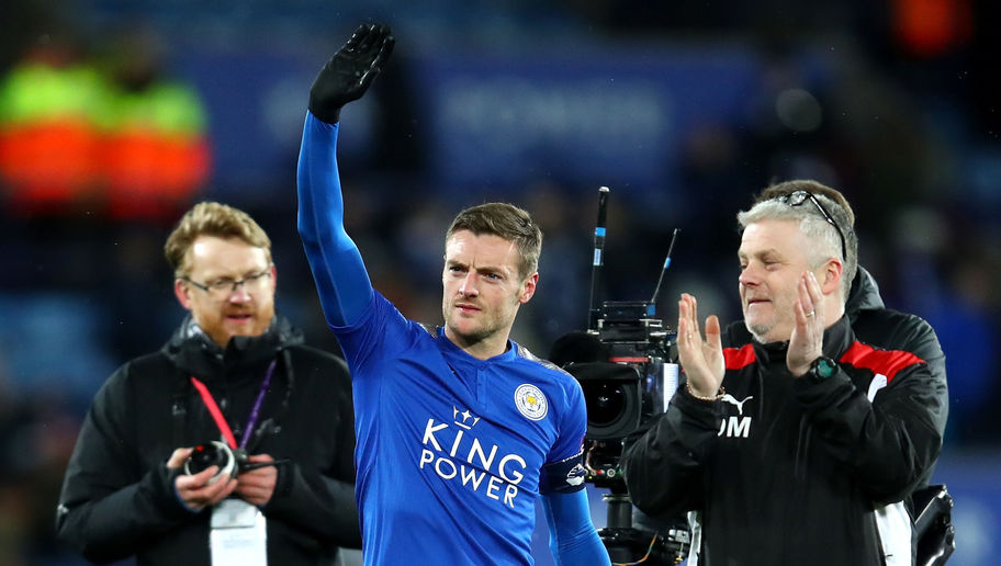 Leicester Striker Jamie Vardy Sparks Rumours of Chelsea Move With Supposed Social Media Hint