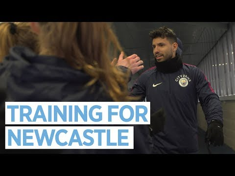 PREPPING FOR NEWCASTLE | Training