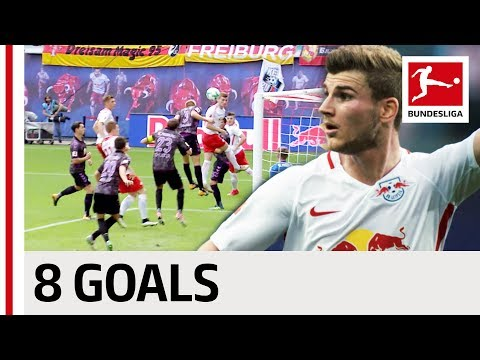 Timo Werner and his Favourite Opponents