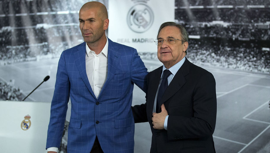 Zinedine Zidane Claims There Is 'No Problem' With Los Blancos Hierarchy After Kepa Transfer Saga