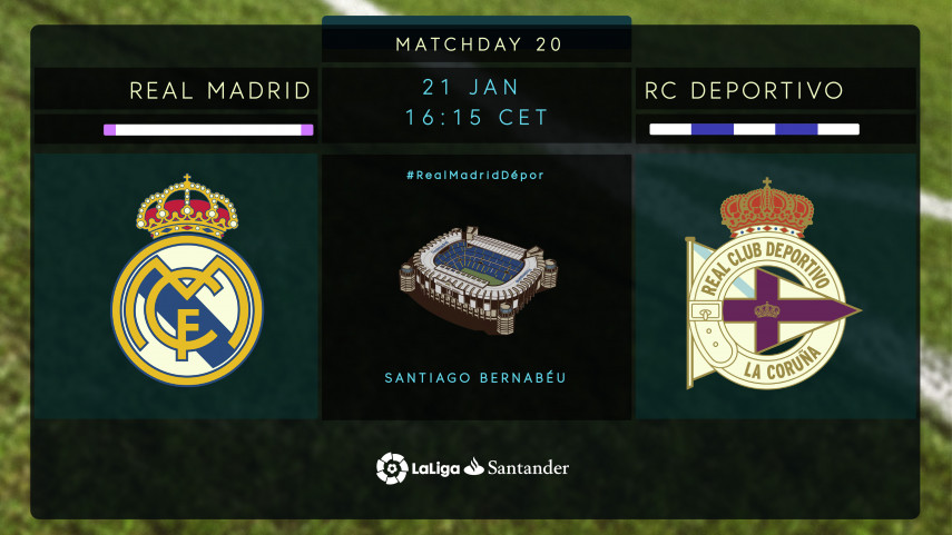 Real Madrid and Depor after a change in fortunes