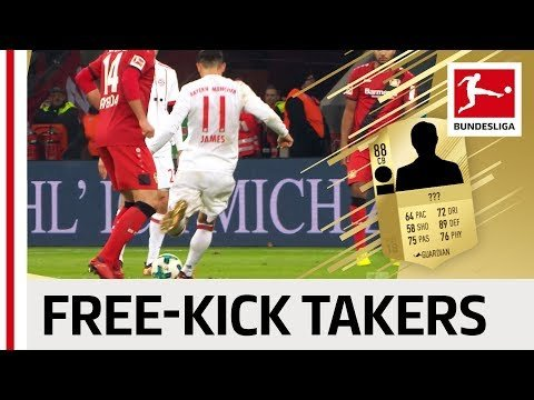 EA SPORTS FIFA 18 - Top 10 Free-Kick Takers - James, Lewandowski, Reus & More