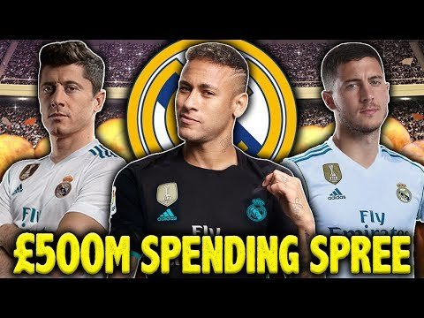 Should Real Madrid Spend €500M On Lewandowski, Neymar & Hazard | #SundayVibes