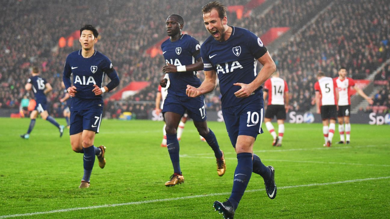 Harry Kane scores but Spurs, Southampton settle for draw