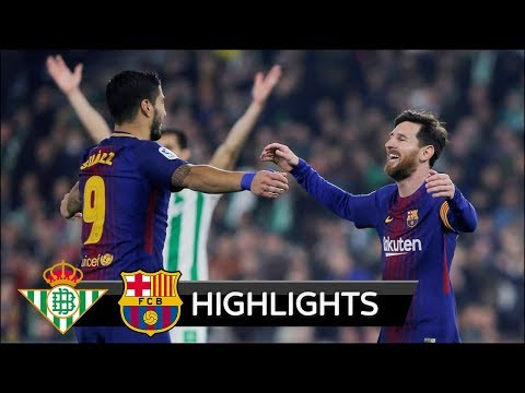 Real Betis vs Barcelona 0-5 - All Goals & Extended Highlights - La Liga 21/01/2018 HD