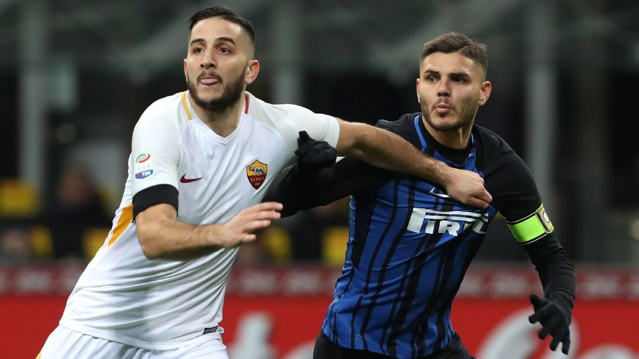 Inter Milan and Roma end in 1-1 draw; Napoli four points clear atop Serie A