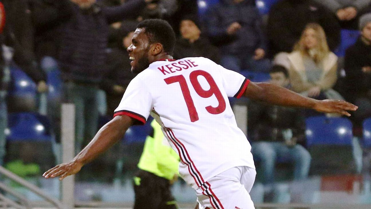 Franck Kessie gets 8/10 in Milan's comeback win vs. Cagliari